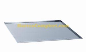 RVS BAKPLAAT 1/1GN (10 mm Hoog) (7045.0085)