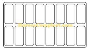 COMBISTEEL SCHEPIJSVITRINE HAWAI 16X 5LTR (7472.0115)