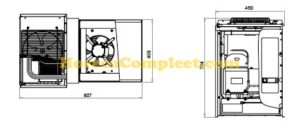 COMBISTEEL WANDUNIT INSTEEK VRIES 3.2-4.2 M3 Standaard Line (7469.1120)