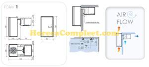 COMBISTEEL WANDUNIT INHANG KOEL 6,6-12,2 M3 Pro Line (7492.0003)