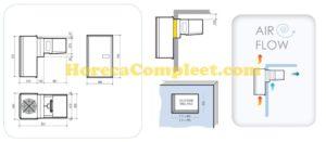 COMBISTEEL WANDUNIT INSTEEK KOEL 11-20 M3 Pro Line (7492.0085)