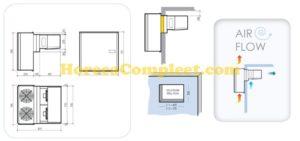 COMBISTEEL WANDUNIT INSTEEK VRIES 4,8-7 M3 Pro Line (7492.0100)