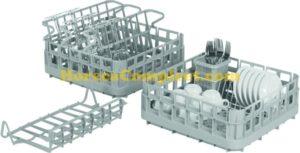 SARO Vaatwasser Mand-set Model SK-SET 400