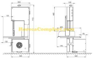 COMBISTEEL LINTZAAG 400V (7054.0075)